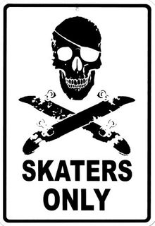 Skaters-only