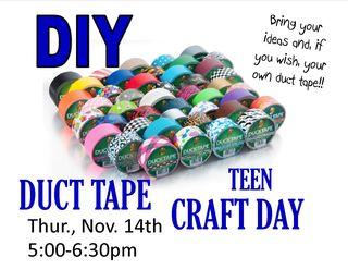 Duct Tape DIY