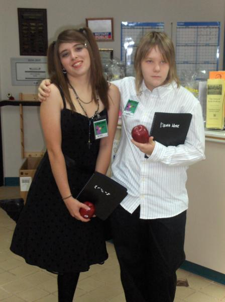 Nicole and Sam - Death Note